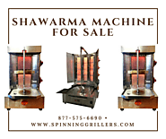 Stainless Steel Shawarma machines for sale