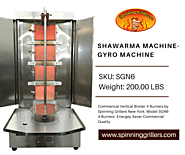 New Gyro Grill Machine for Sale