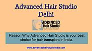 Best Clinics for Hair Transplant in India - Advanced Hair Studio
