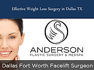 Effective Weight Loss Surgery in Dallas TX