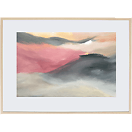 Framed Prints Featuring Glimpses of Original Chloe Planinsek Paintings