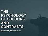 The psychology of colours and contrasts