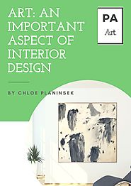 Art: An Important Aspect of Interior Design