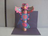 Create a Paper Totem Pole for Native American Heritage Month