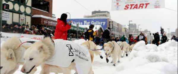 Headline for Iditarod