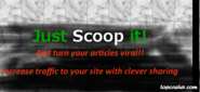 Increase blog traffic or website traffic for free with scoop-it content curator