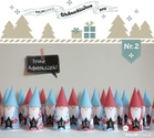 Santa Gnome Advent Calendar