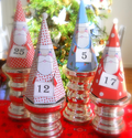 Santa Gnome Box Advent Calendar