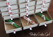Matchbox Drawer Advent Calendar