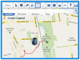 Scribble Maps - Draw on google maps with scribblings and more!