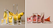 Foods Distorted Through Liquid and Glass in Photographs by Suzanne Saroff | Colossal
