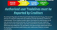 Authorized User Tradelines Must Be Reported By Creditors