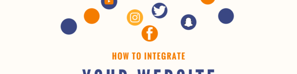 Headline for Integrating Your Website with Social Media Sites
