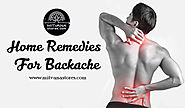 Home remedies for backache - Mitvana Stores