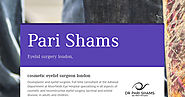 Pari Shams - blepharoplasty london