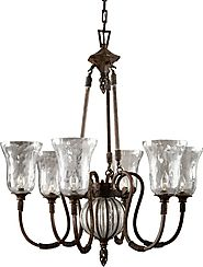 The Beauty of Wrought Iron Chandeliers (Link Roundup)