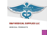 Branded and high quality medical equipment online