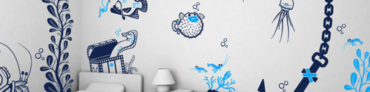 Headline for 5 Wall Decal Ideas to Steal From Pinterest