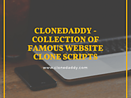 Clonedaddy — Popular Website Clone Scripts - Clonedaddy