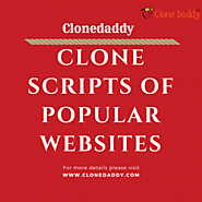 Clonedaddy — Collection of worthy Clone Script of famous...