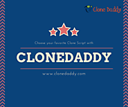 Clonedaddy — Choose your favorite Clone Script with Clonedaddy