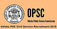 OPSC / OAS RECRUITMENT 2018 | Easy Online Application for OAS and Other jobs | Sarkari Exaam Result