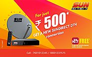 SUN Direct New DTH Connection Offers