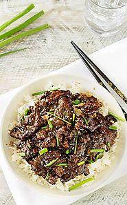 Mongolian Beef with Coconut Rice