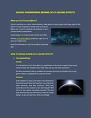 PPT - Amazing World Of Sci-Fi Sound Effects PowerPoint Presentation - ID:7748146