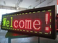 Single Line LED Scrolling Display Boards