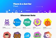 There is a bot for that | Search engine for bots