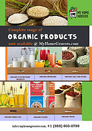 Buy Organic Food Products Online - MyHomeGrocers.com