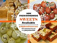 Buy Indian Fresh Homemade Sweets Online - MyHome Grocers.com