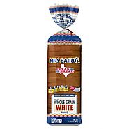 BREAD WHOLE GRAIN WHITE MRS BAIRDS - 567 GMS / 20 OZ*