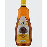 ORGANIC MUSTARD / AAVA OIL 24 MANTRA - 1 LTR / 33.81 OZ [ FOR EXTERNAL USE ONLY ]