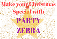 Christmas Theme collection at Party Zebra.