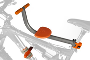 Amazon.com: TYKE TOTER Front Mount Child Bicycle Seat (Age 2-5 yrs., Weight Limit 45 Lbs.): Baby