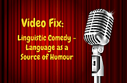 Video Fix: Linguistic Comedy – Language as a source of humour - Terminology Coordination Unit [DGTRAD] - European Par...