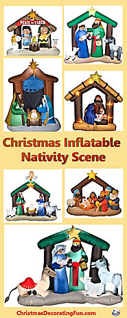 Christmas Inflatable Nativity Scenes