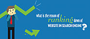 What Is the Reason of Ranking Down Of Website in Search Engine?