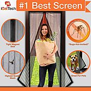Top 10 Best Magnetic Screen Doors in 2017 (November. 2017)