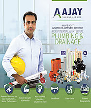 Ajay Pipes: PVC Plastic Pipe – Explore a Unique range of Plumbing Solutions – Plumbing Pipe and Fittings- Ajay Pipes