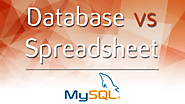 Database vs Spreadsheet - Advantages and Disadvantages