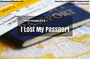 Lost Passport Houston | Same Day Lost Passport Replacement | Texas Passport Center