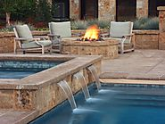 Swimming Pool Water Features Cape Town | Horizon Pools