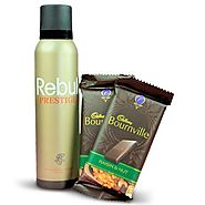 Buy/Send Delicious Chocolates and Deo Hamper - YuvaFlowers