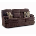 Brown Microfiber Reclining Sofa | Nebraska Furniture Mart