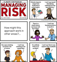 Dyman & Associates Risk Management Projects Cartoon: the climate contrarian guide to managing risk