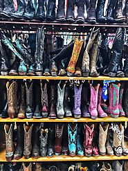This epic collection of cowboy boots at Allen's Boots