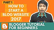 Blogger Tutorial for Beginners - Introduction - Part 1